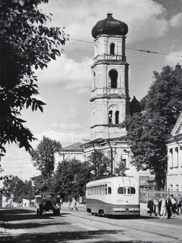 Улица Краснофлотская, ныне Ильинская. 1964 год