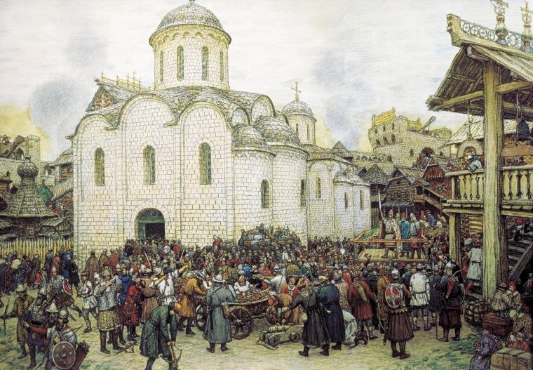 1382г или почему Русь получила возможность превратиться в Россию.