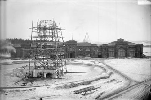 1915 г. Эвакуированные заводы..
