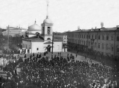 Пл. Благовещенская. 1910-e