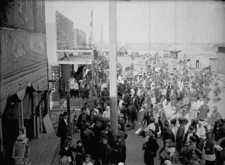 Нижегородская ярмарка на фотографиях М.Дмитриева. 1890-е