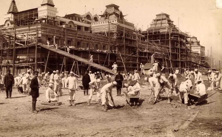 Главный ярмарочный дом Нижегородской ярмарки. 1889-1890гг