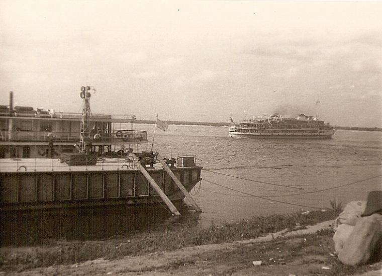 Пристань в Горьком (август 1964)