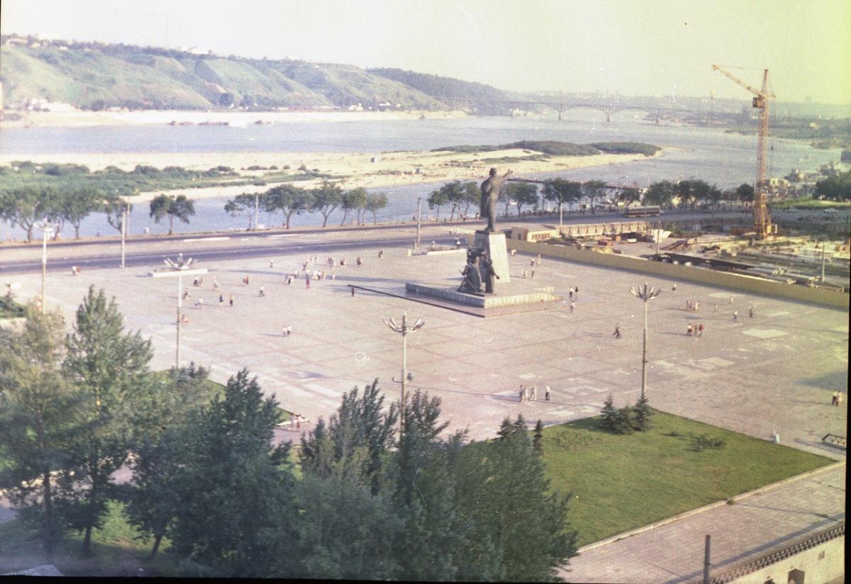 Город Горький 1971 г.